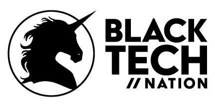 Black Tech Nation Sticky Logo
